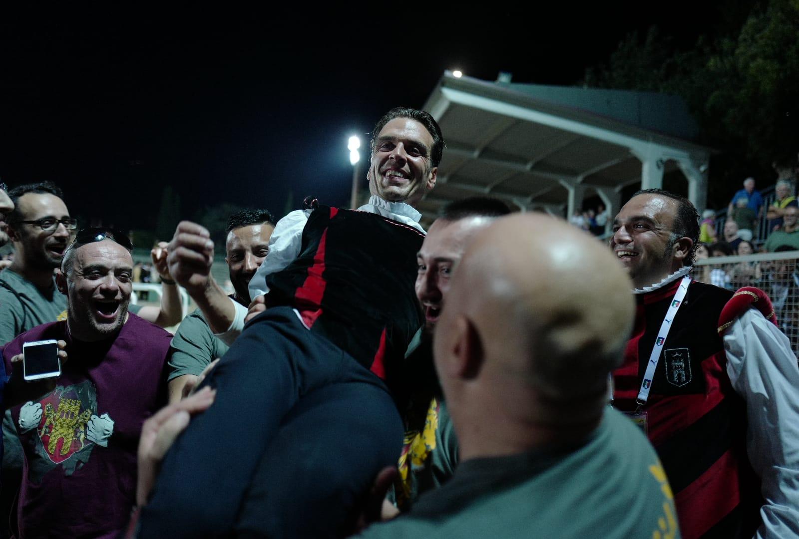 Tufilla vince quintana 2018 gubbini trionfo