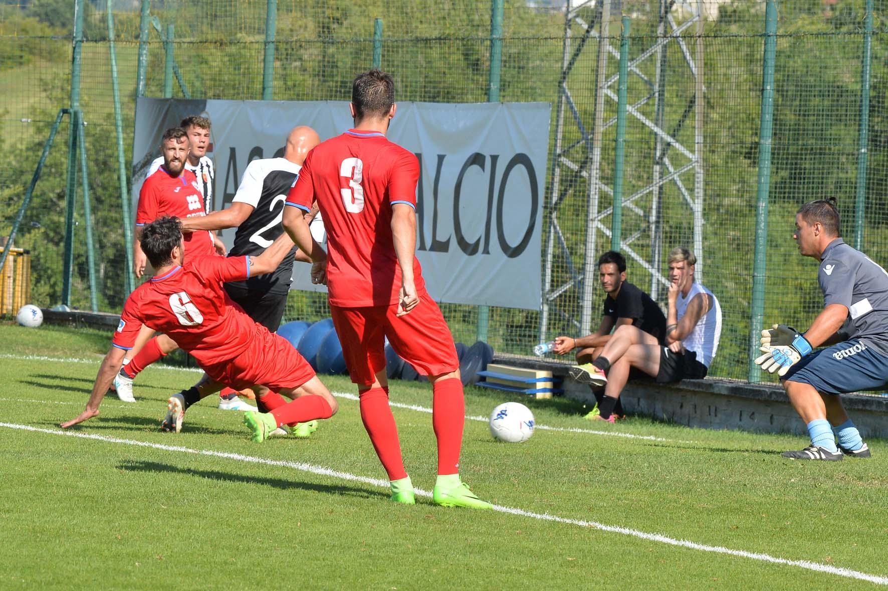 ascoli- atletico ascoli SANTINI in gol