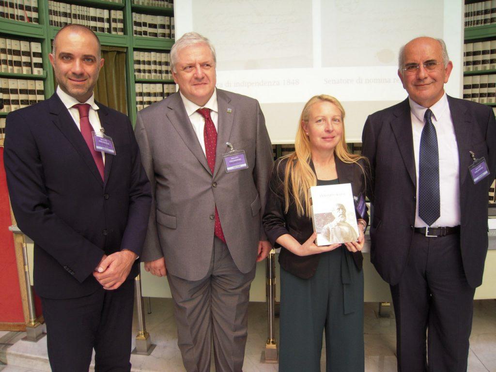 Maria Luce Sestili su Orsini alla Biblioteca del Senato