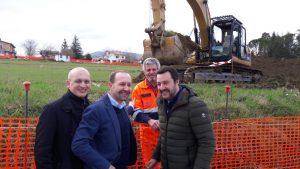 Arrigoni con Tullio Patassini e Matteo Salvini