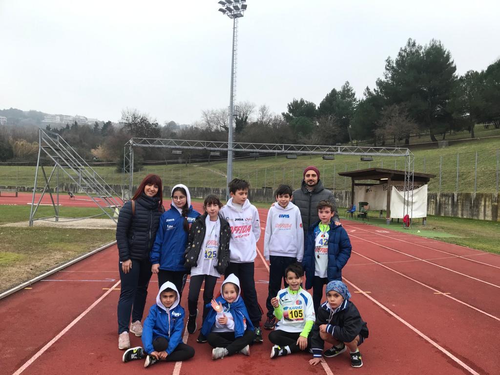 Offida Atletica terzo meeting giovanile nazionale Ancona